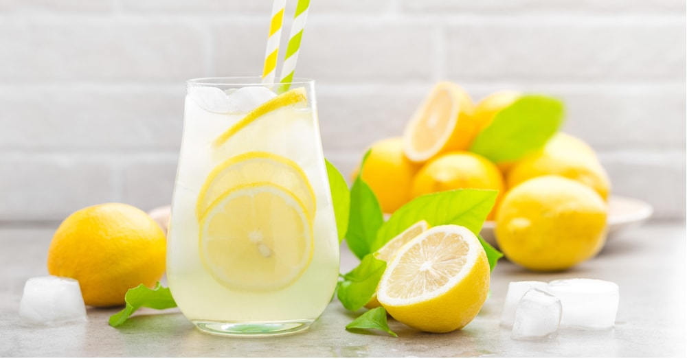 Lemon Water Can Help with Senior Weight Loss